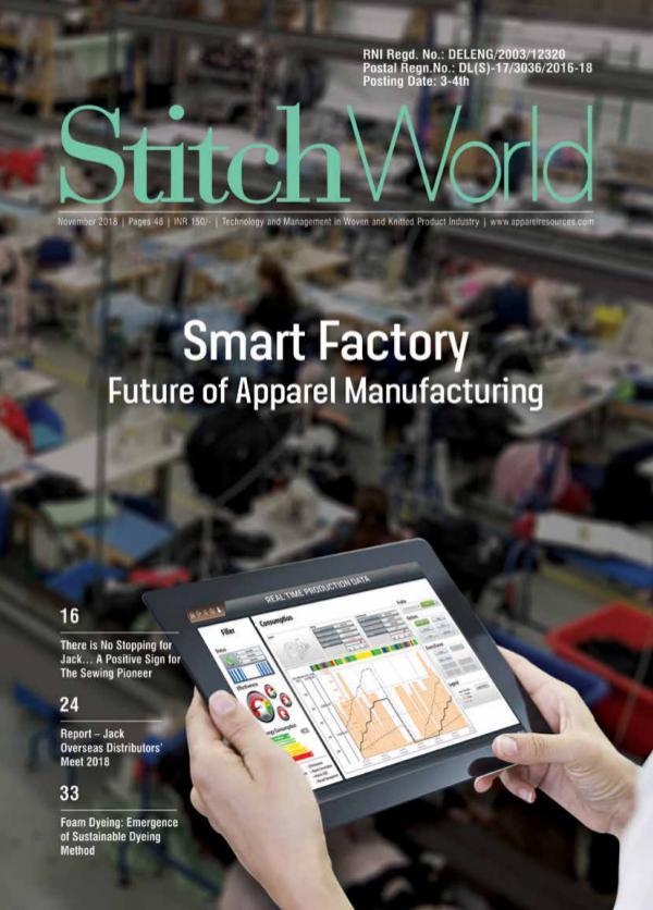 Stitch World Magazine November Issue 2018