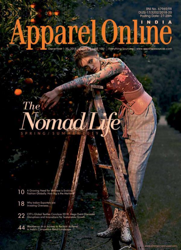 Apparel Online India Magazine December 1st Issue 2018