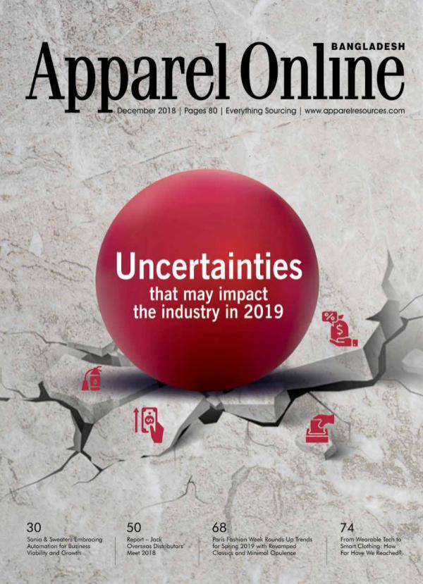 Apparel Online Bangladesh Magazine December Issue 2018