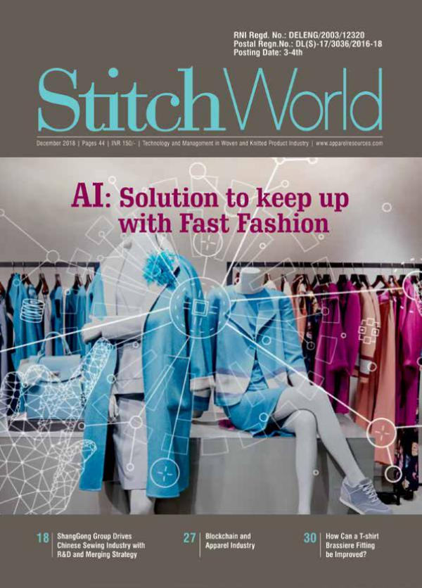 Stitch World Magazine December Issue 2018