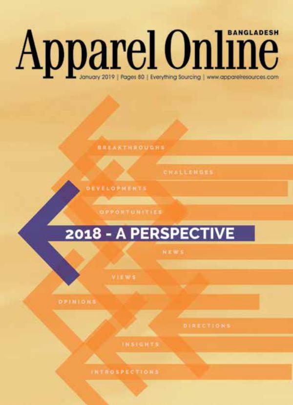 Apparel Online Bangladesh Magazine January Issue 2019