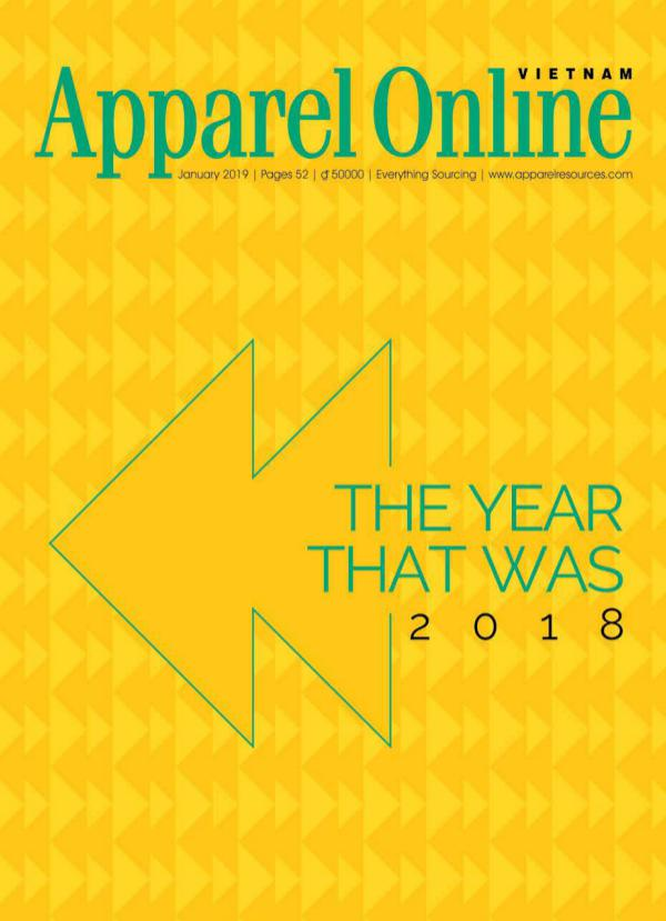 Apparel Online Vietnam Magazine January Issue 2019