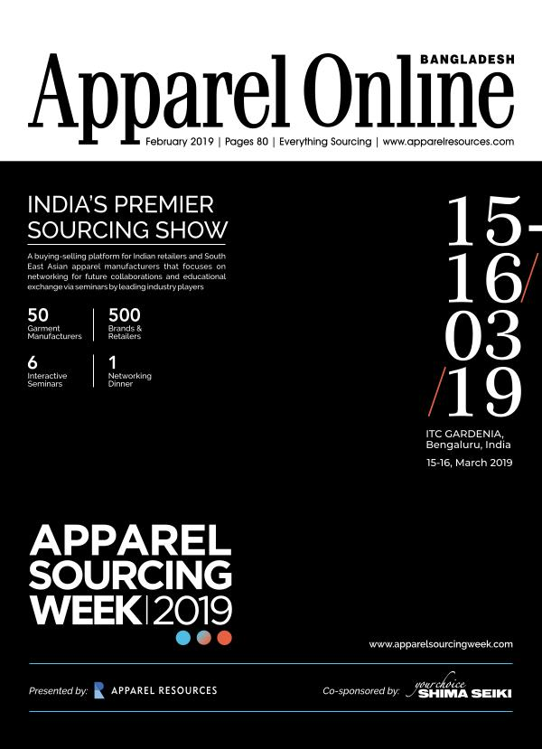 Apparel Online Bangladesh Magazine February Issue 2019