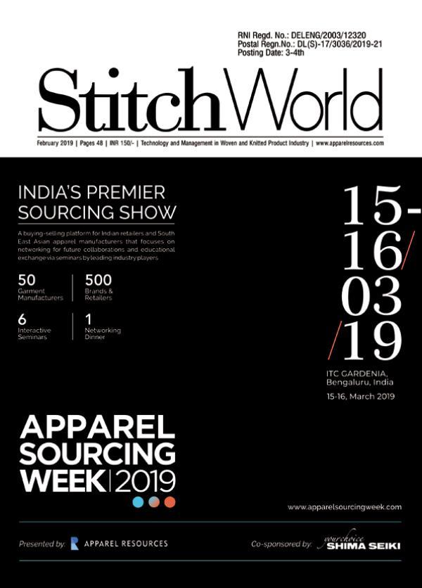 Stitch World Magazine February Issue 2019