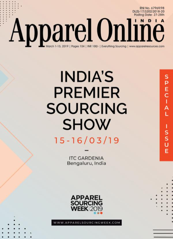 Apparel Online India Magazine March 1st Issue 2019