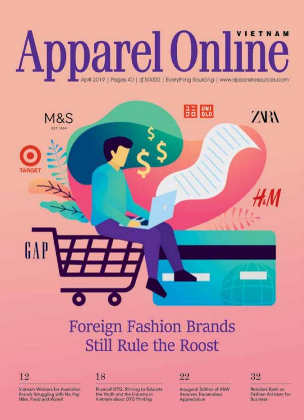 Apparel Online Vietnam Magazine April Issue 2019