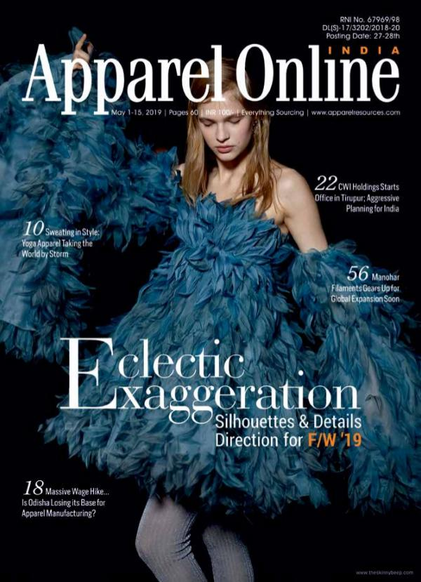 Apparel Online India Magazine May 1-15, 2019