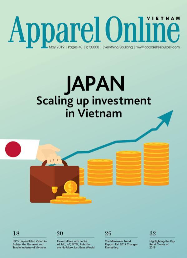 Apparel Online Vietnam Magazine May Issue 2019