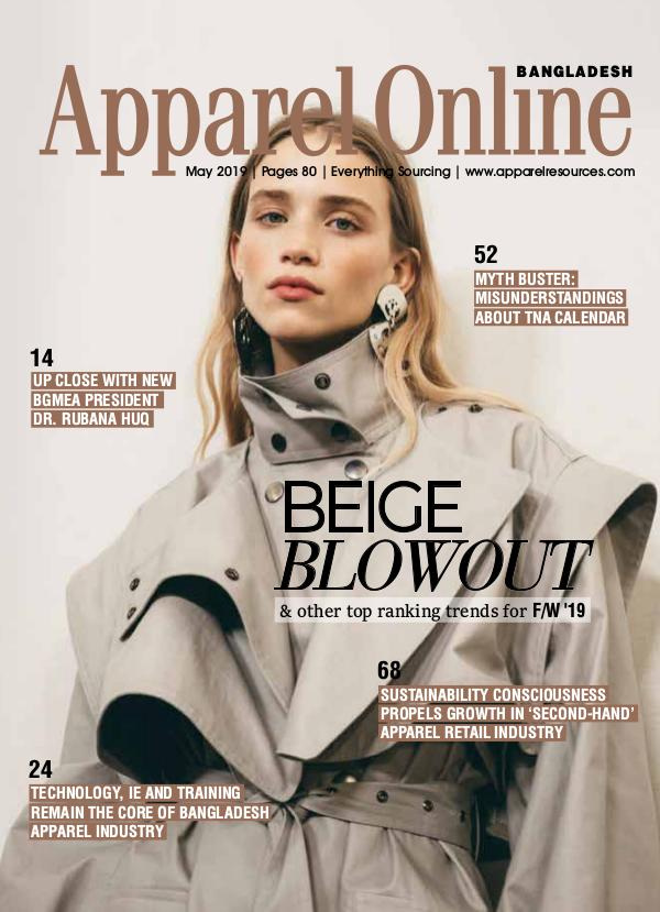 Apparel Online Bangladesh Magazine May Issue 2019