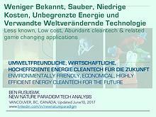 Nicht Sehr Bekannt, Umweltfreundliche Wassertechnologien Für Die..