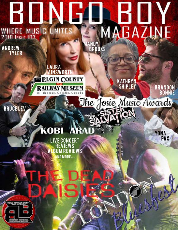 Bongo Boy Magazine Issue 107