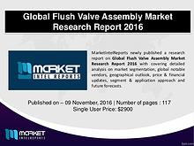 Flush Valve Assembly Market Industry Analysis – 2021