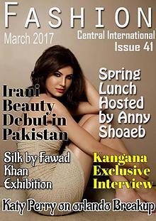 Fashion Central international  Issue
