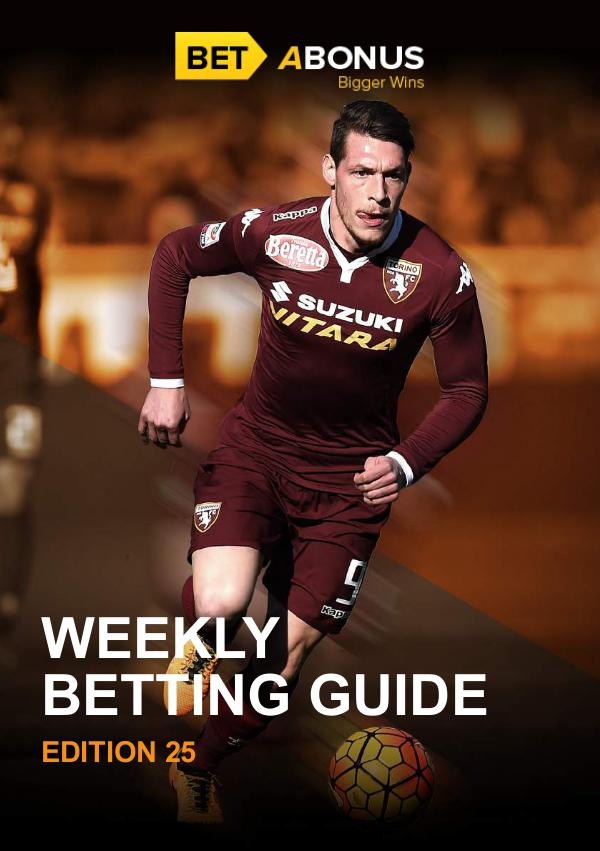 Weekly Betting Guide Volume 24