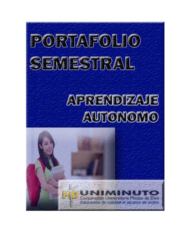 PORTAFOLIO SEMESTRAL 1
