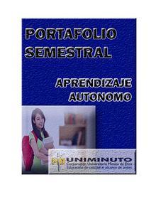 PORTAFOLIO SEMESTRAL