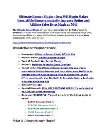 MarketingUltimate Banner Plugin review & huge +100 bonus items