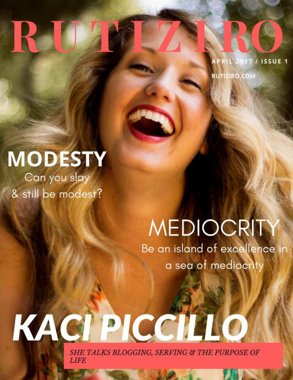 Rutiziro Magazine 01