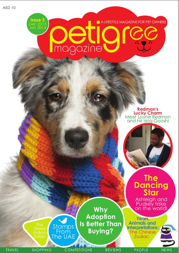 PETIGREE MAGAZINE Issue 3