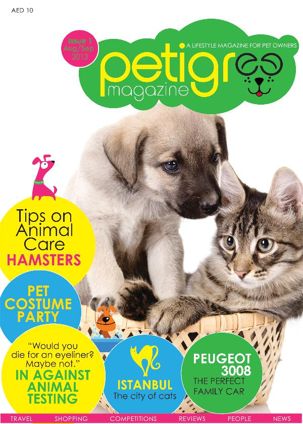 PETIGREE MAGAZINE Issue 1