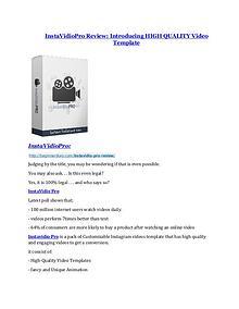 InstaVidioPro review - InstaVidioPro (MEGA) $23,800 bonuses