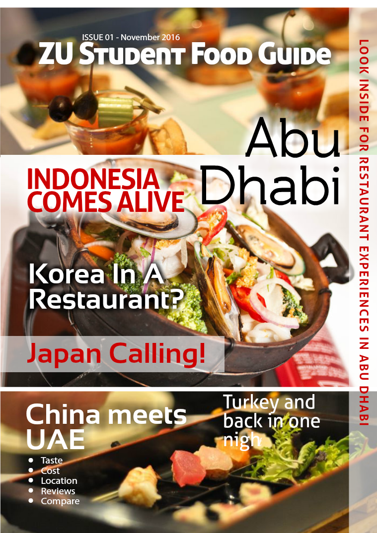 Abu Dhabi Food Guide for ZU Students 1.1
