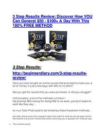 3 Step Results Review and (MASSIVE) $23,800 BONUSES