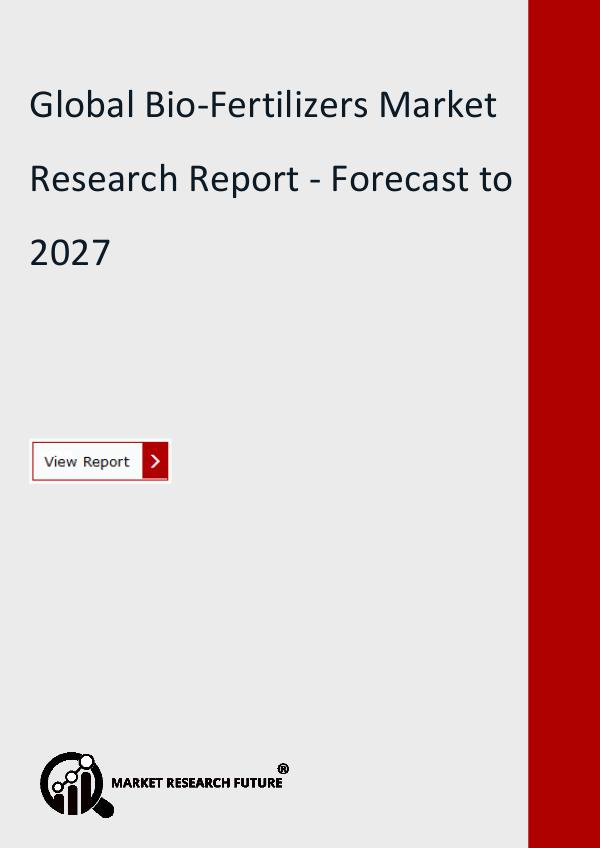 Market Research Future (Food and Beverages) Global Bio-Fertilizers Market Research Report