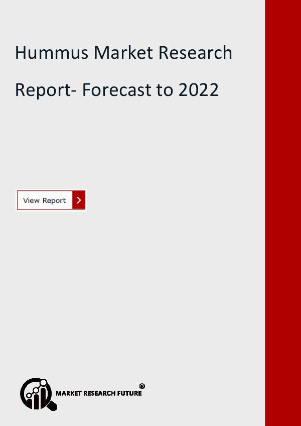 Hummus Market Research Report- Forecast to 2022
