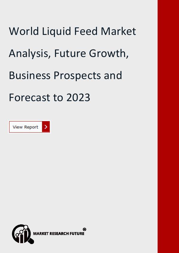 Liquid feed market Research Report- Forecast till