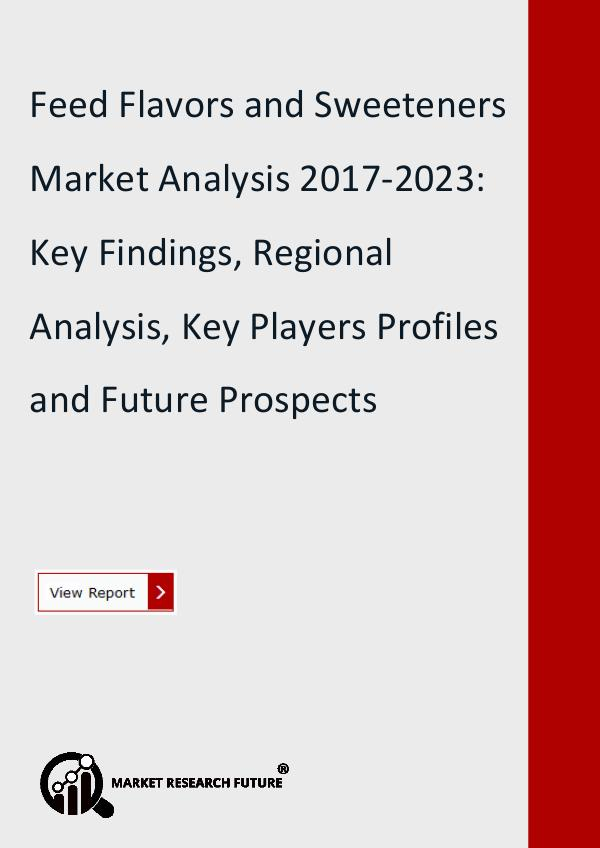 Market Research Future (Food and Beverages) Feed Flavors and Sweeteners Market: Survey, Trend