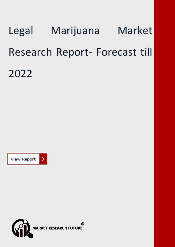 Legal Marijuana Market Research Report- Forecast
