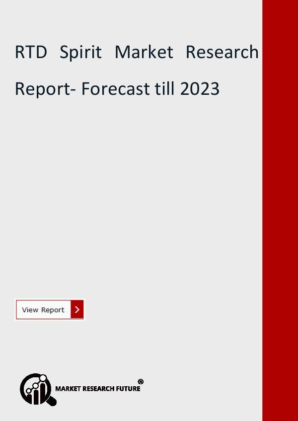 RTD Spirit Market Research Report- Forecast till