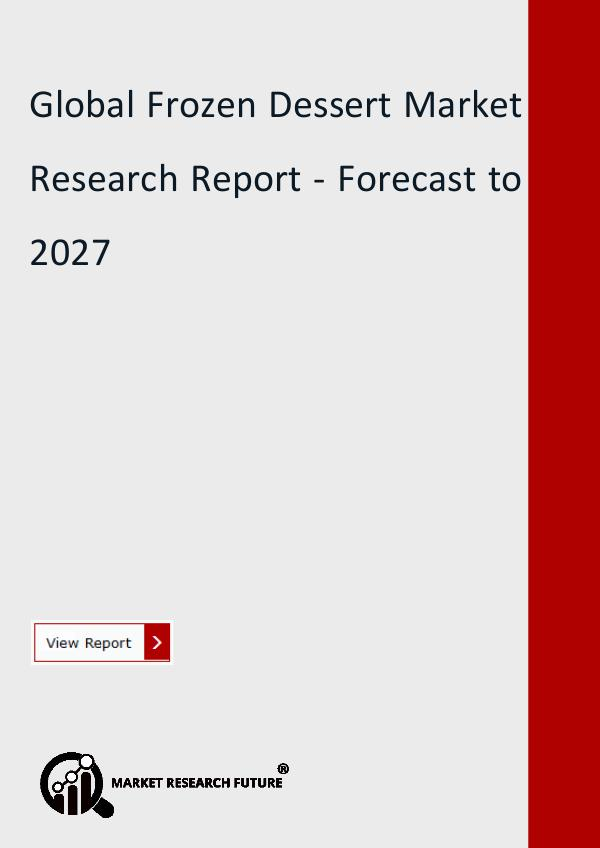 Market Research Future (Food and Beverages) Global Frozen Dessert Market Size, Share, Trend,