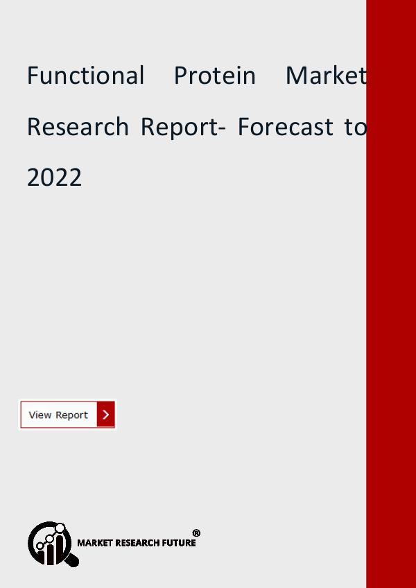 Market Research Future (Food and Beverages) Functional Protein Market Analysis, Regional Trend