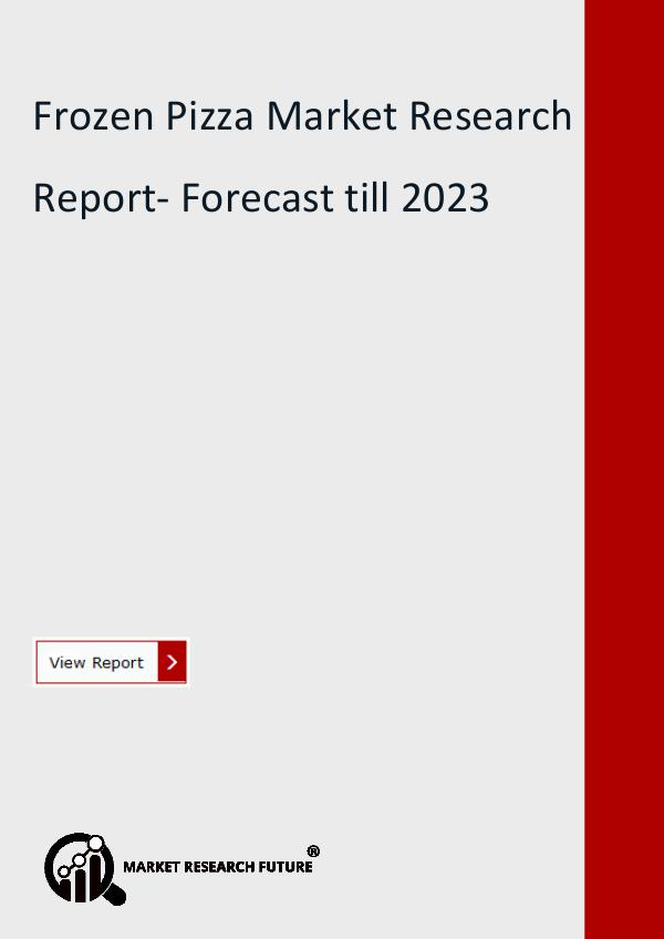 Frozen Pizza Market Research Report- Forecast till