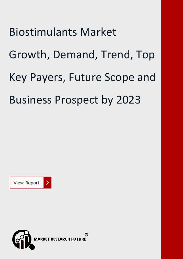 Market Research Future (Food and Beverages) Biostimulants market Information