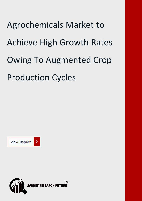 Market Research Future (Food and Beverages) Agrochemicals Market Research Report