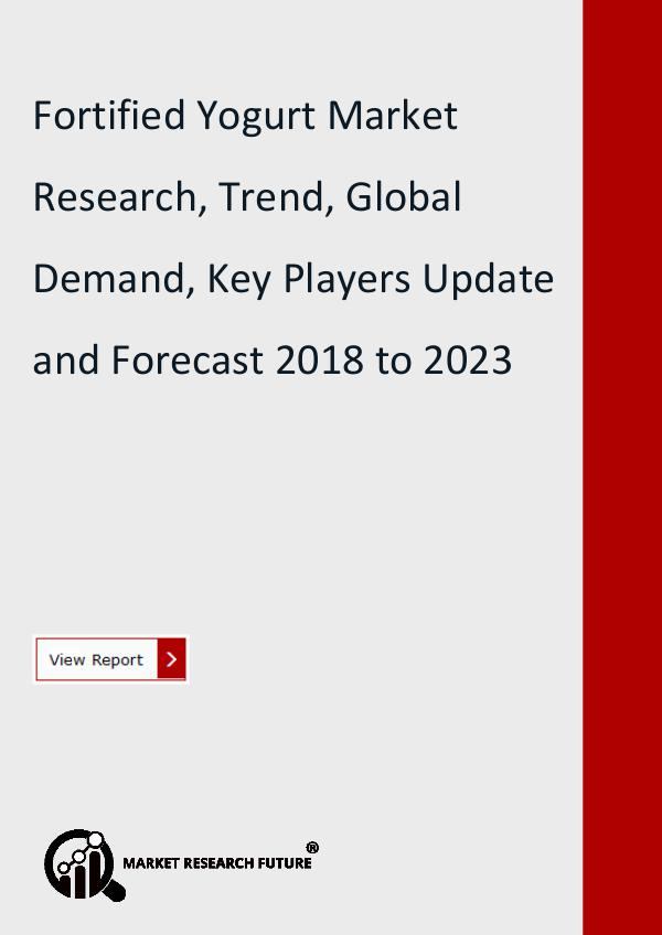Market Research Future (Food and Beverages) Fortified Yogurt Market Research Report