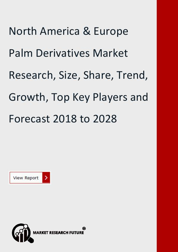North America and Europe Palm Derivatives Market