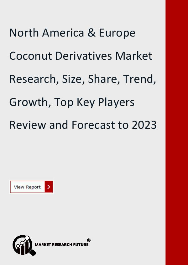 North America & Europe Coconut Derivatives Market
