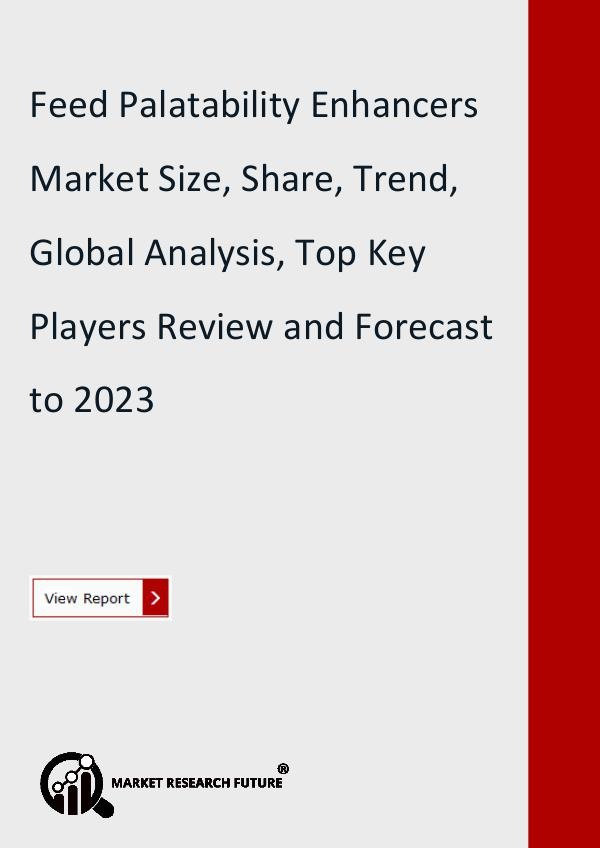 Market Research Future (Food and Beverages) Feed Palatability Enhancers Market Research Report