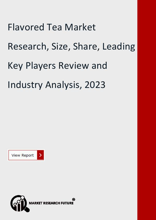Market Research Future (Food and Beverages) Flavored Tea Market Research, Size, Share, Trend,