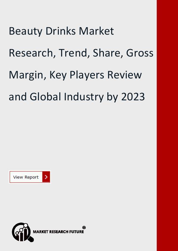Beauty Drinks Market Research, Trend, Share, Gross