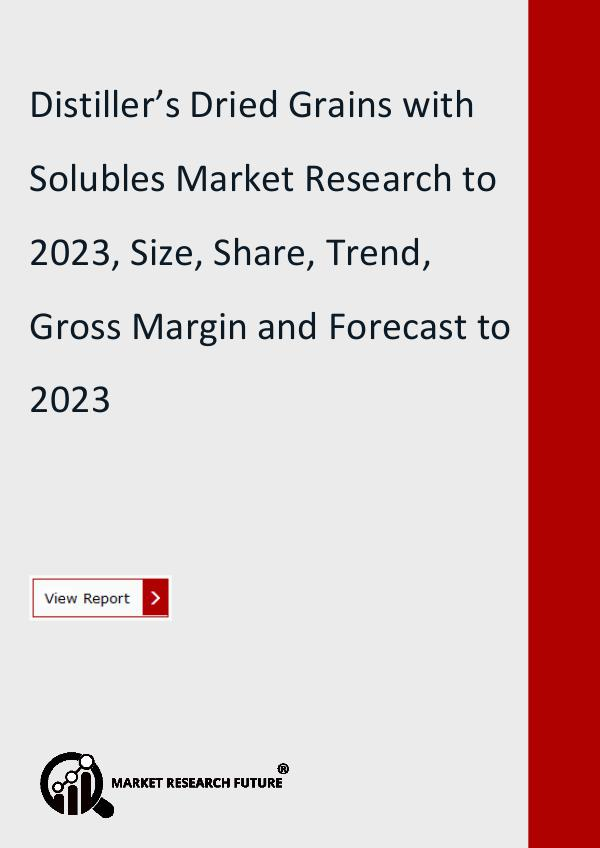 Distiller's Dried Grains with Solubles Market