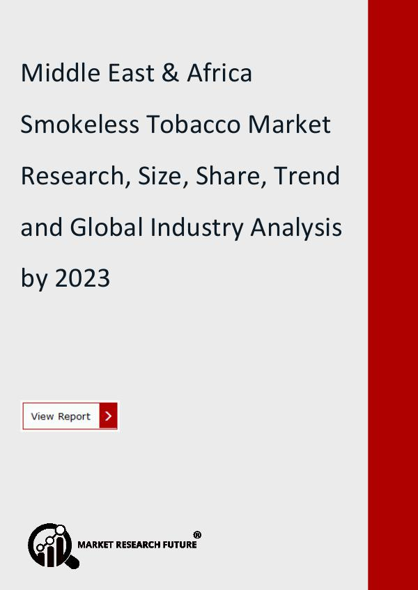 Middle East & Africa Smokeless Tobacco Market