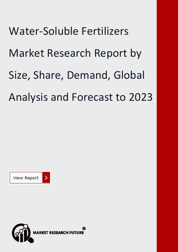 Water-Soluble Fertilizers Market Research Report