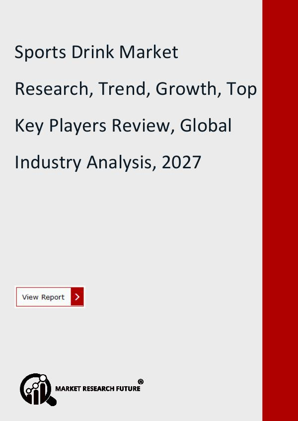 Sports Drink Market Research Report includes