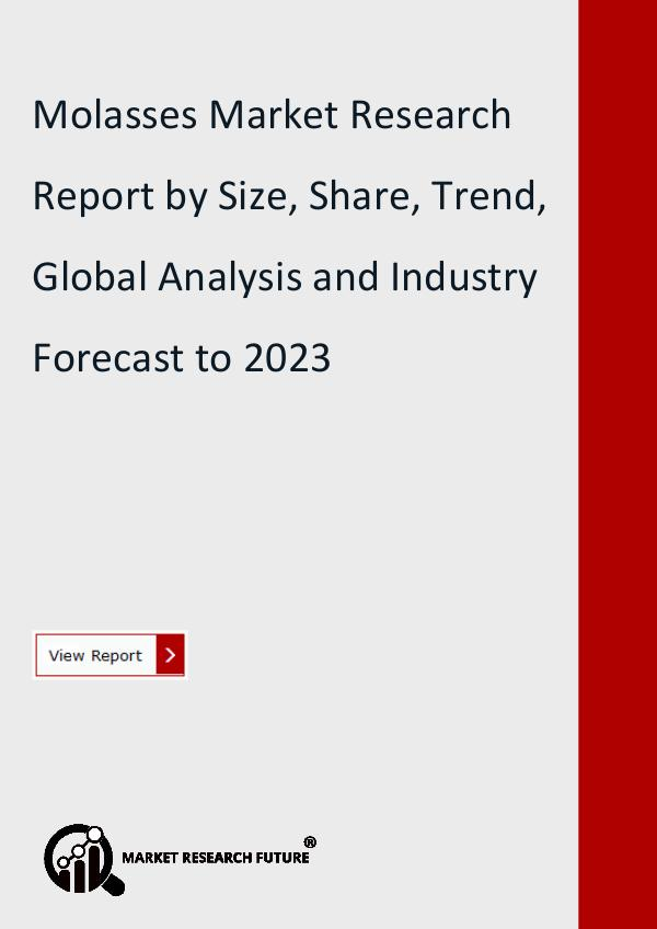 Market Research Future (Food and Beverages) Molasses Market has been segregated
