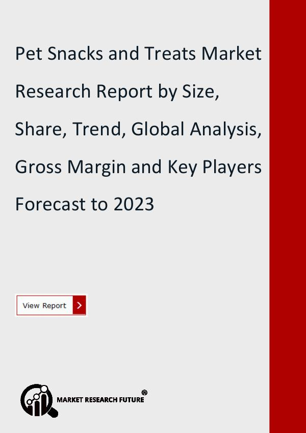 Market Research Future (Food and Beverages) Pet Snacks and Treats Market Research Report